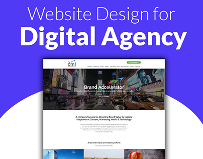 Website Design and Development for Digital Agency