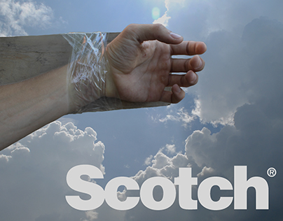 Fake advertisement for Scotch