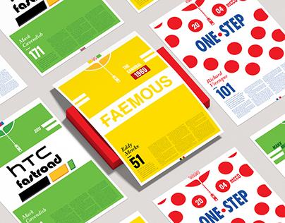 Tour de France Commemorative Posters