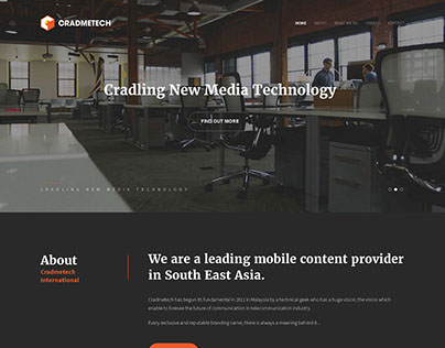 Cradmetech Website