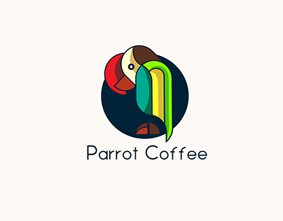 Parrot Coffee: Logo Branding