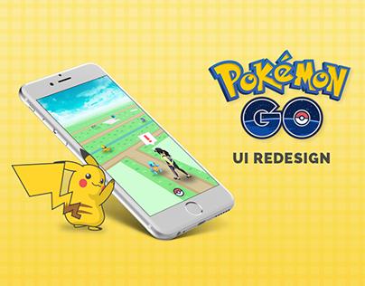 Pokémon GO - UI Redesign