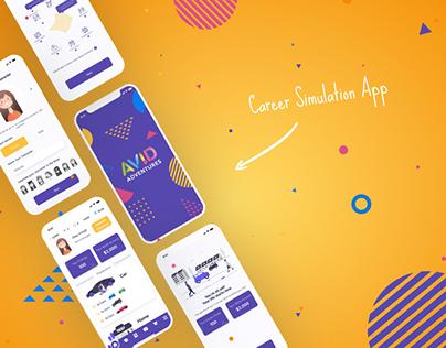 Avid Adventures Career App Game