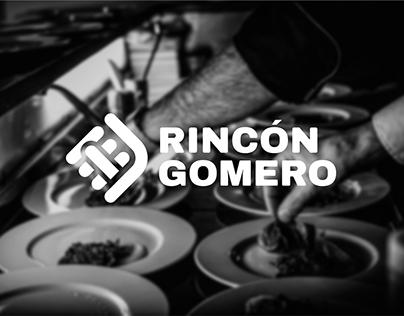 Rincón Gomero restaurant brand design