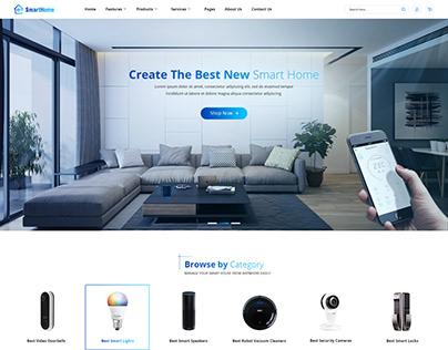 SmartHome - Home Automation Joomla Template