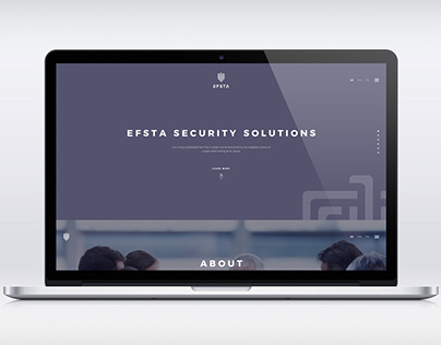 Security Solutions web design