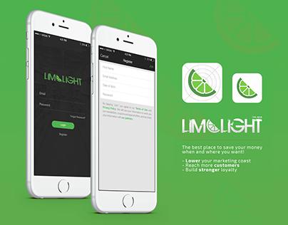 LIMELIGHT APP IOS UX/UI Design
