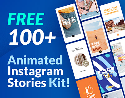 Free Templates Instagram Stories | Animated