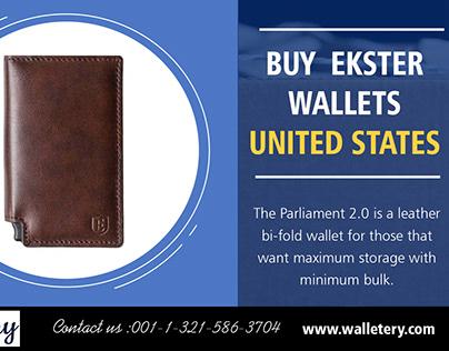 Buy Ekster Wallets United States | 00113215863704 | wa