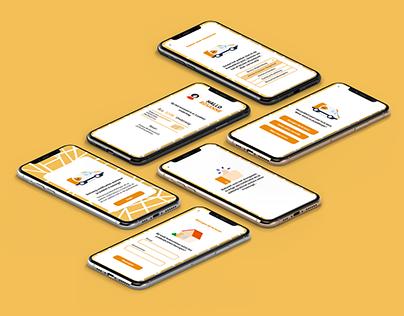 PostNL app ontwerp Pakketkluis