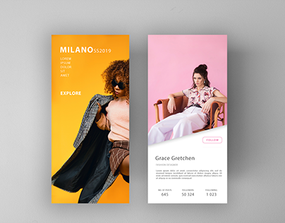 Milano SS2019 Fashion Week Application