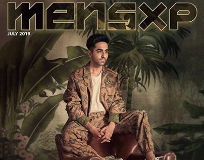 Ayushmann Khurrana for Mensxp Magazine Cover July 2019