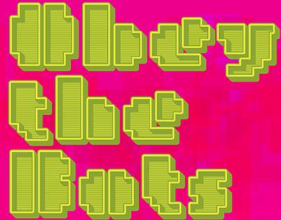MetroBots Chrome, SVG Colour Fonts