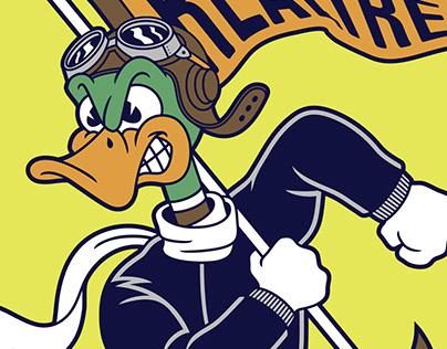 Realtree® Duck Mascot