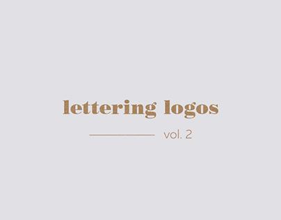 Lettering Logos vol. 2