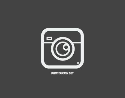 Free Photo Icon Set