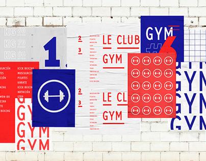 Le Club Gym — Identidad