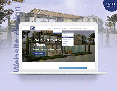 Kleh Modular Solutions_Website Design