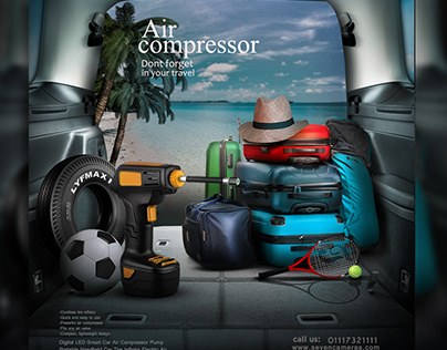 social media ads air compressor