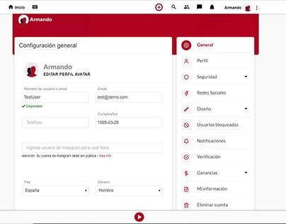 Opción para que usuarios integren su cuenta de IG