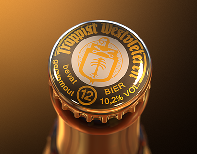 Westvleteren XII - 3D Visualisation