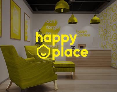 Happy place - Hotel Brand Identity