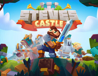 Steves Castle game illustration Animation