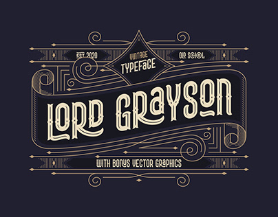 Lord Grayson font
