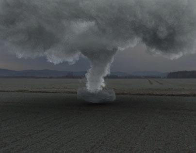 Tornado visual effect.
