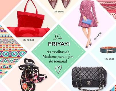 Madame Recicla • E-mail Marketing - Escolhas da Madame