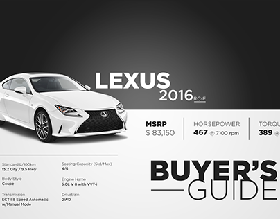 Lexus buying guide Poster, Banner