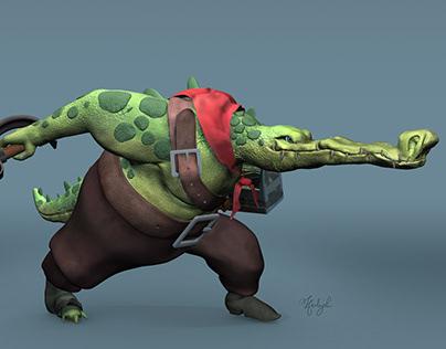 Pirate Croc