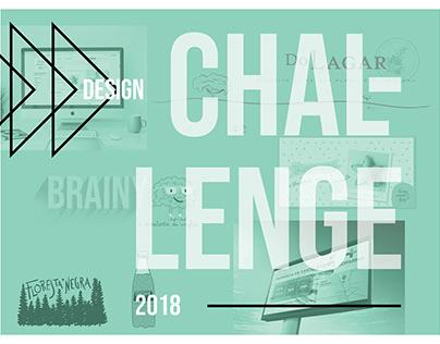 DESIGN CHALLENGE - BRANDING - PORTFOLIO - 2018