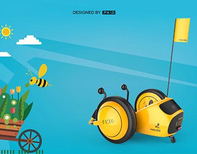 Children drift scooter