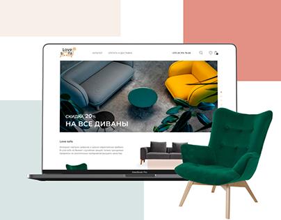 Love Sofa   Furniture Online Store