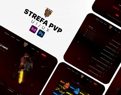 StrefaPVP - UI/UX