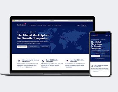 Funderbeam UI, Web & branding