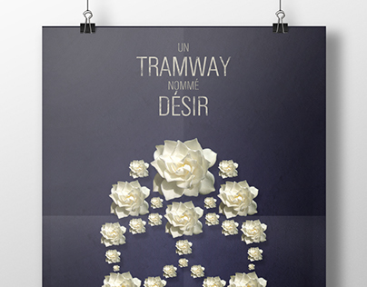 """Un tramway nommé désir"" film poster"