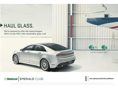 Print Campaign for Emerald Club