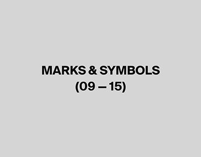 Marks & Symbols 09-15