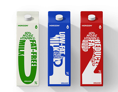 Horizon Milk_Packaging Design