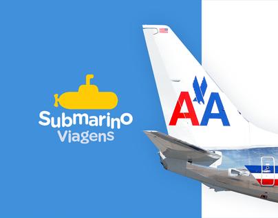Submarino Viagens Redesign