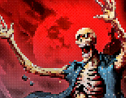 Pixel Artist - 8 Bit Retro - Photoshop Action