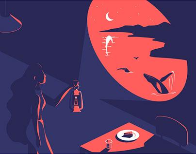 Night Visions illustration