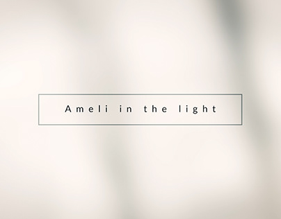 Showreel of Model Ameli