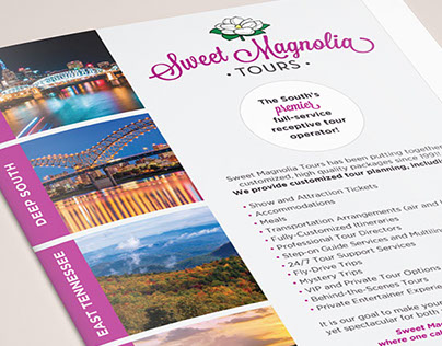 Sweet Magnolia Tours Brochure