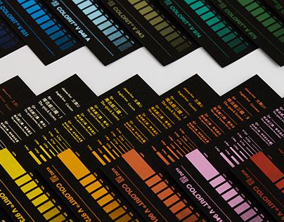 PIGMENT FOIL CATALOGUE  Print design