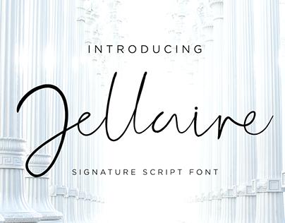 Jellaine Signature Script Font