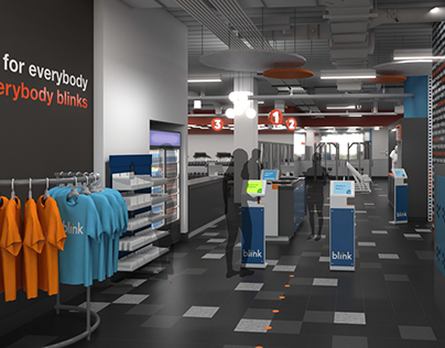 Blink Fitness: Store Visualization