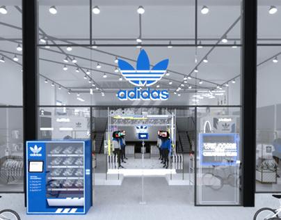 Diseño UX y Dirección arte/creativa Adidas Original